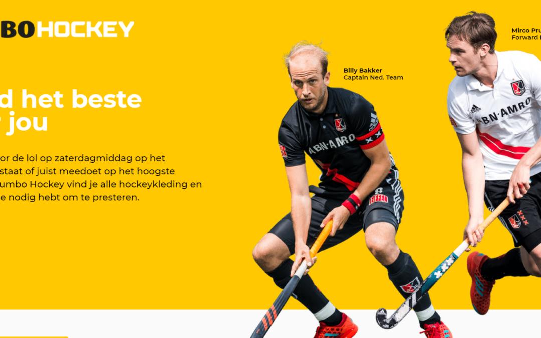 Jumbo Golf start nieuwe winkelketen voor hockeyliefhebbers