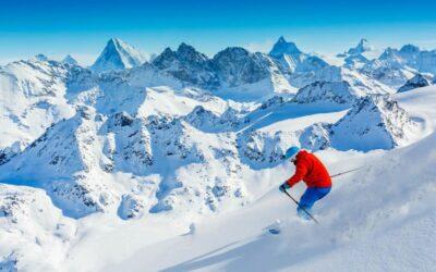 Wintersportleveranciers en sportwinkels zitten met onverkochte skispullen